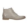 Kožená kotníčková obuv bata, hnědá, 596-2645 - 15