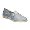 Dámská obuv ve stylu Slip-on bata, modrá, 516-9604 - 13