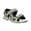 Kožené dětské sandály mini-b, šedá, 463-2602 - 13