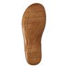 Kožené nazouváky šíře H bata, bílá, 566-1605 - 26