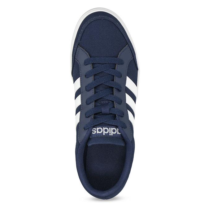 Modré textilní tenisky pánské adidas, modrá, 889-9235 - 17