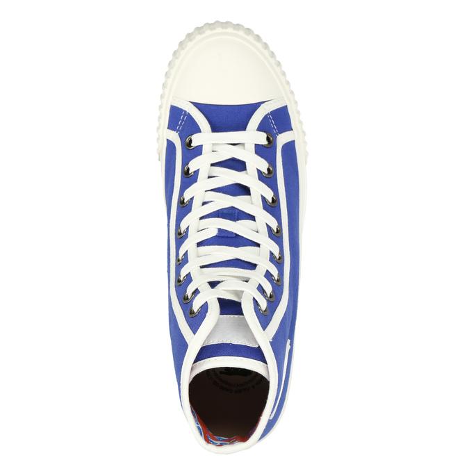 Pánské kotníčkové tenisky modré bata-bullets, modrá, 889-9294 - 26