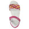 Kožené dívčí sandály primigi, růžová, 366-5010 - 26