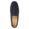 Mokasíny z broušené kůže gant, modrá, 813-9030 - 19