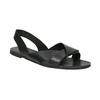 Kožené dámské sandály vagabond, černá, 564-6015 - 13
