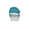 Dívčí tyrkysové sandály mini-b, tyrkysová, 261-9688 - 17