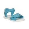 Dívčí tyrkysové sandály mini-b, tyrkysová, 261-9688 - 13