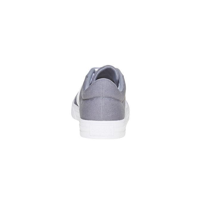 Šedé pánské tenisky adidas, šedá, 889-2235 - 17