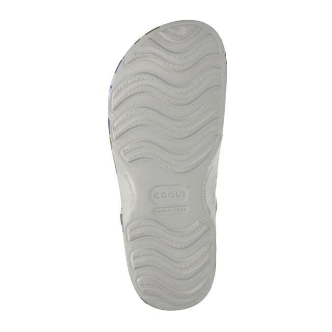 Pánské sandály se vzorem coqui, zelená, 872-7616 - 26