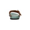 Pánské kožené nazouváky bata, hnědá, 866-3623 - 17