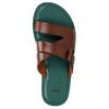 Pánské kožené nazouváky bata, hnědá, 866-3623 - 19