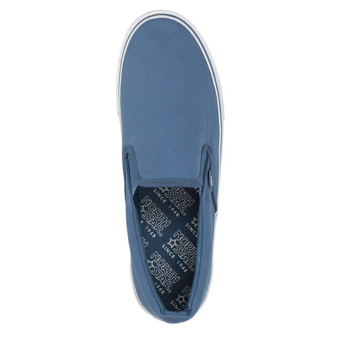 Modrá obuv ve stylu Slip-on north-star, modrá, 889-9286 - 19