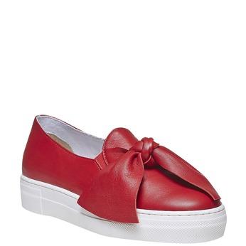 Červená dámská Slip-on obuv north-star, červená, 514-5264 - 13