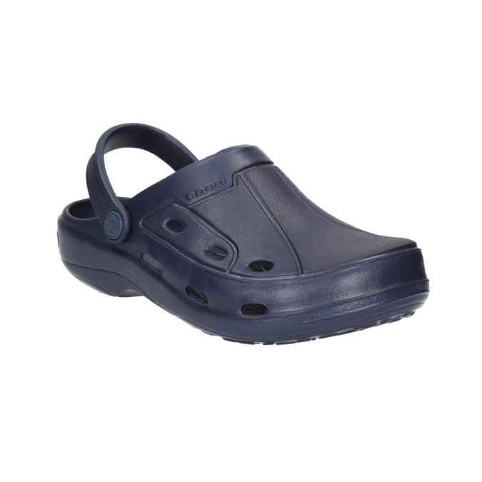 Modré dětské sandály coqui, modrá, 472-9610 - 13