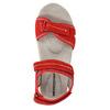 Červené dámské sandály kožené weinbrenner, červená, 566-5608 - 19