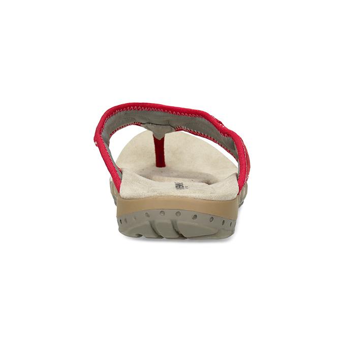 Dámské žabky ve sportovním stylu weinbrenner, červená, 566-5611 - 15