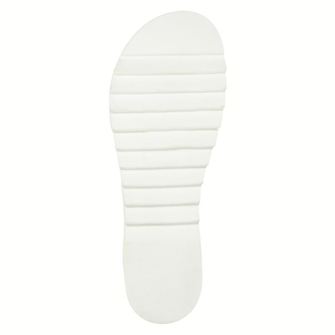 Kožené sandály na bílé podešvi weinbrenner, hnědá, 566-4629 - 26