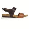 Kožené sandály na bílé podešvi weinbrenner, hnědá, 566-4629 - 15