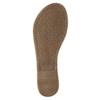 Černé kožené sandály bata, černá, 564-6600 - 26