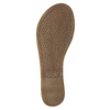 Hnědé kožené sandály bata, hnědá, 566-4613 - 26