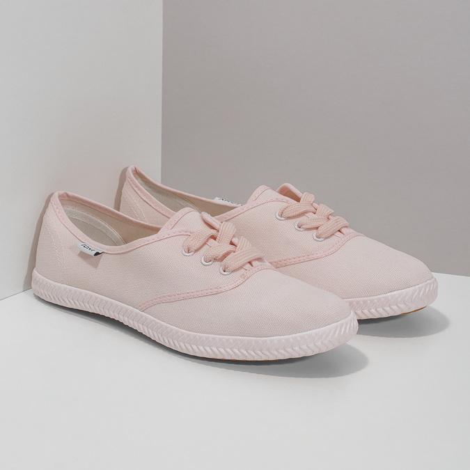 Růžové dámské tenisky tomy-takkies, růžová, 589-5180 - 26
