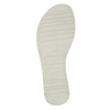 Dámské kožené nazouváky bata, černá, 566-1614 - 26