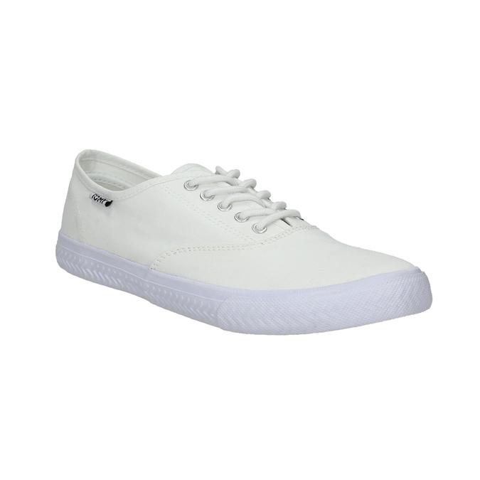 Bílé ležérní tenisky tomy-takkies, bílá, 889-1227 - 13