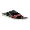 Dámské kožené nazouváky bata, černá, 566-5614 - 13