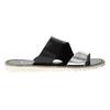 Dámské kožené nazouváky bata, černá, 566-1614 - 15