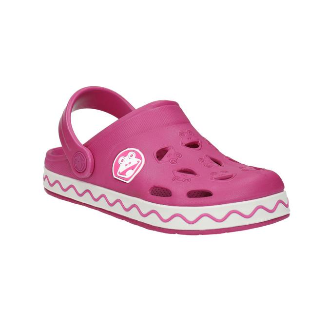Dívčí růžové sandály coqui, růžová, 272-5602 - 13