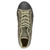 Khaki kotníčkové tenisky bata-bullets, zelená, 589-7143 - 26