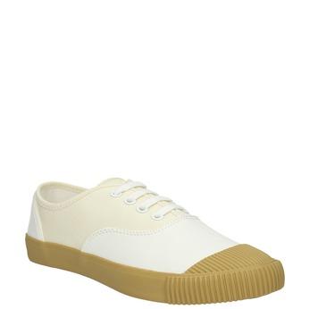 Dámské tenisky bata-bullets, bílá, 589-1402 - 13