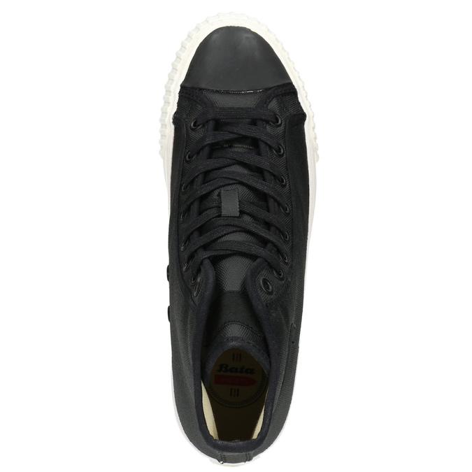 Pánské kotníčkové tenisky bata-bullets, černá, 889-6143 - 26