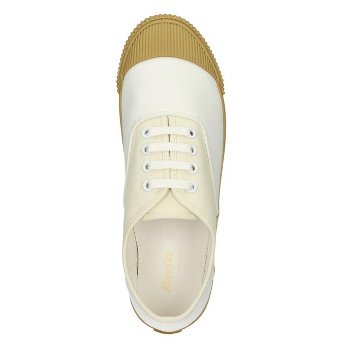 Dámské tenisky s gumovou špicí bata-tennis, bílá, 889-1402 - 26