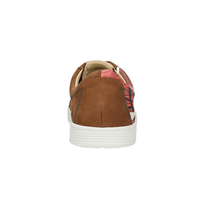 Kožené tenisky z limitované edice bata, hnědá, 846-4800 - 17
