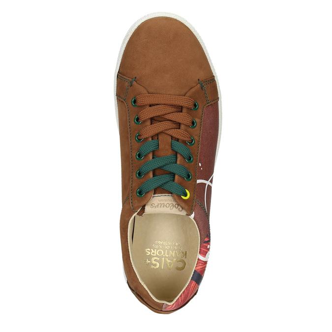 Kožené tenisky z limitované edice bata, hnědá, 846-4800 - 26