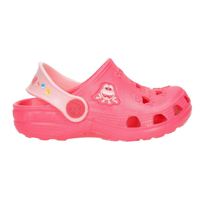 Růžové dívčí sandály coqui, růžová, 272-5600 - 15