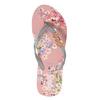 Květinové dámské žabky pata-pata, růžová, 572-2600 - 26