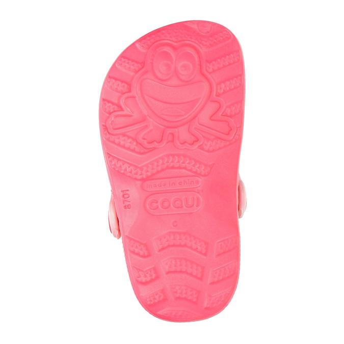 Růžové dívčí sandály coqui, růžová, 272-5600 - 19