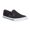Dámská Slip-on obuv s barevným lemem north-star, černá, 589-6440 - 13