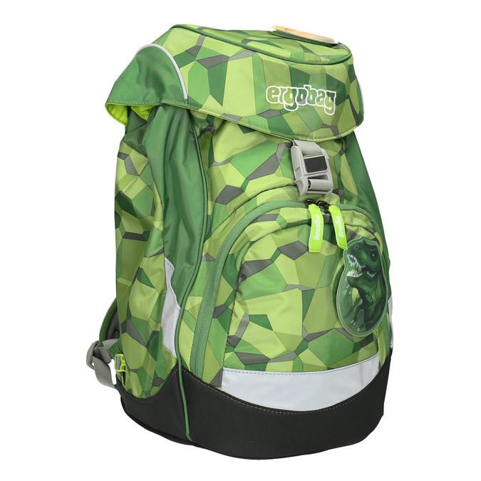 Zelený školní batoh ergobag, zelená, 969-7054 - 13