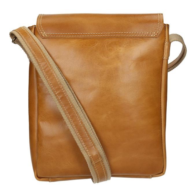 Pánská kožená Crossbody taška bata, hnědá, 964-3283 - 16