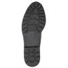 Lakované dámské polobotky bata, černá, 521-6606 - 26