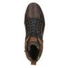 Kožené kotníčkové tenisky bata, hnědá, 846-4640 - 26