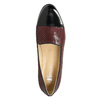 Kožené dámské Loafers bata, červená, 516-5610 - 26