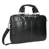 Kožená unisex taška bata, černá, 964-6204 - 13