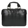 Kožená unisex taška bata, černá, 964-6204 - 19