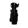 Sametové lodičky s pásky bata, černá, 629-6632 - 17