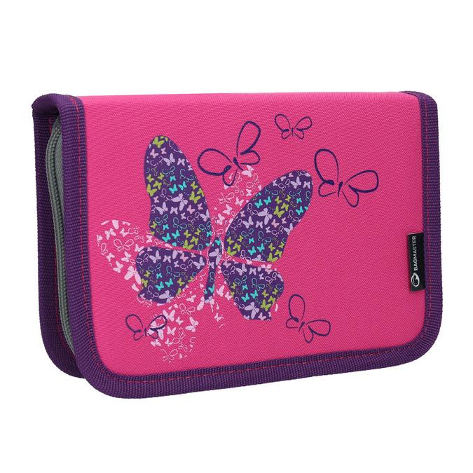 Růžový školní penál bagmaster, růžová, 969-5653 - 13