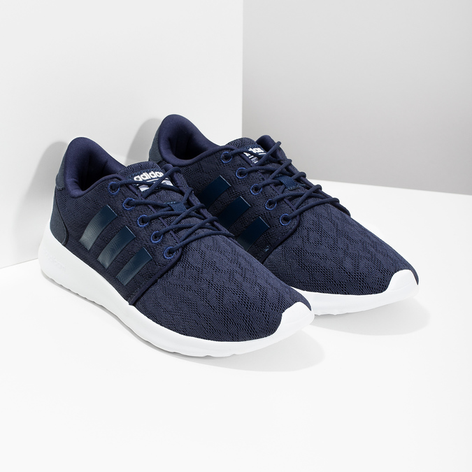 Modré tenisky sportovního střihu adidas, modrá, 509-9112 - 26